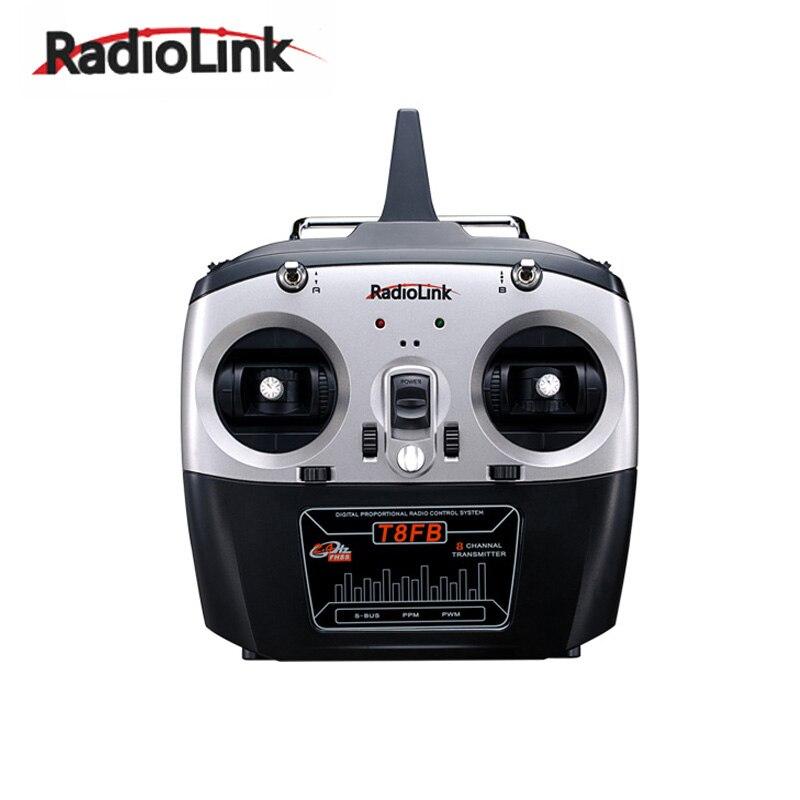 Émetteur RC d'origine RadioLink T8FB 2.4 GHz 8ch récepteur R8EH télécommande combinée Rontrol pour hélicoptère RC bricolage avion quadrirotor RC