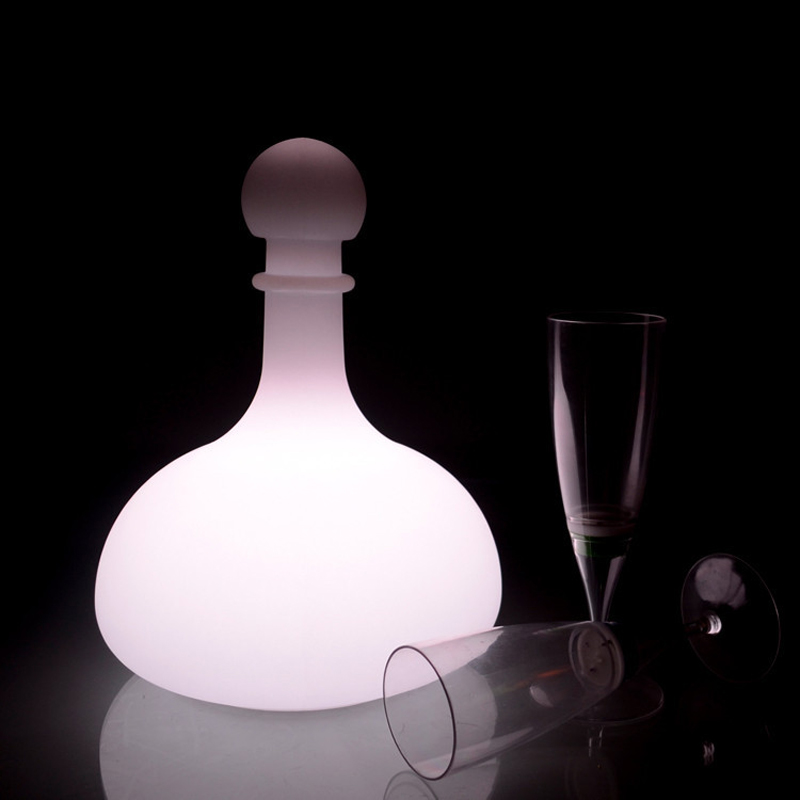 Vintage Wine LED Desk Light USB Rechargeable Table lamp IP65 Waterproof Bar Party Home Lighting RGB Night Lamp by Remote Control|LED Night Lights| |  - title=