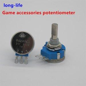 Potenciômetro de jogo componente eletrônico rvq24yn03 25f b502 5 k 25mm eixo RVQ24YN03-25F-B502 consoles originais da longa vida