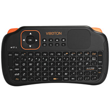 Viboton S1 All-in-One 2.4G Wireless Keyboard Air Mouse Remote Controller with Touchpad for Computer Projector TV Box Tablet etc.