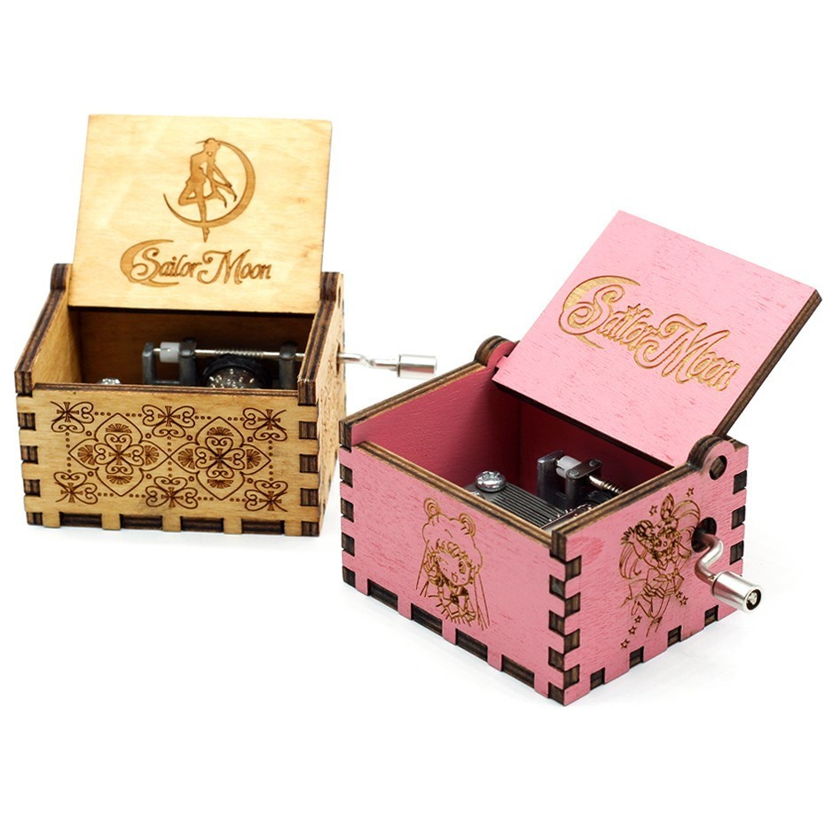 New White Black And Blue Pink Music Box Island Princess