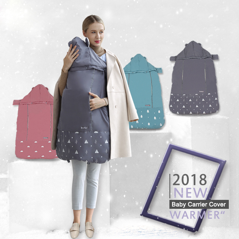 Activity & Gear Reliable Best Baby Winter Baby Carrier Cloak Warm Cape Cover Wind Rain Snow Proof With Velvet Lining Blanket Cover You Baby Mother & Kids