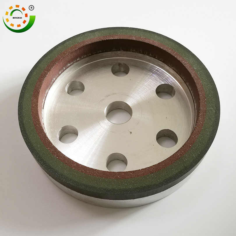 Three-band grit resin wheel for Glass Wheel Machine tool 150*22*15*10 mm Abrasive Disc Diamond cup Three-band grit resin wheel