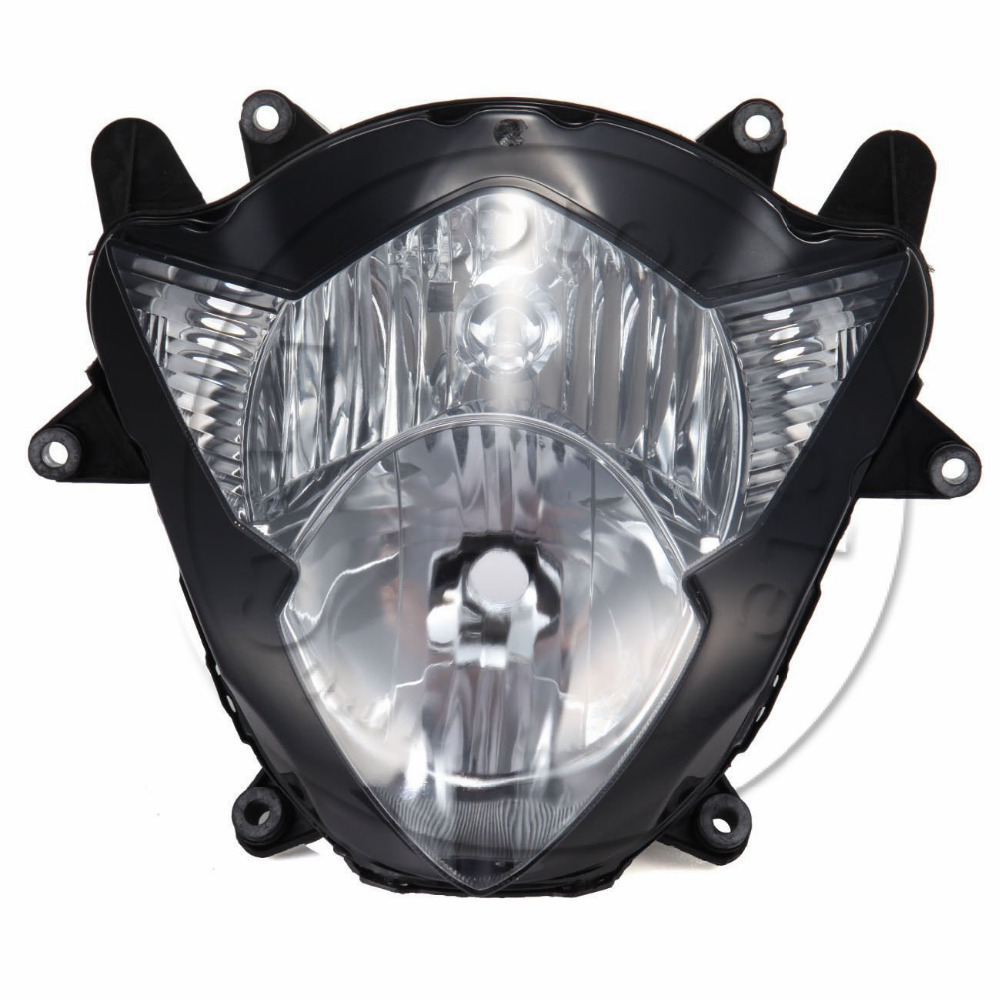 Motorcycle Front Headlight For SUZUKI GSX-R1000 2005 2006 GSXR 1000 GSXR1000 K5 Head Light Lamp Assembly Headlamp Lighting Parts motorcycle scooter electroplate front headlight headlamp head light lamp small mask cap cover shield large for yamaha bws x 125