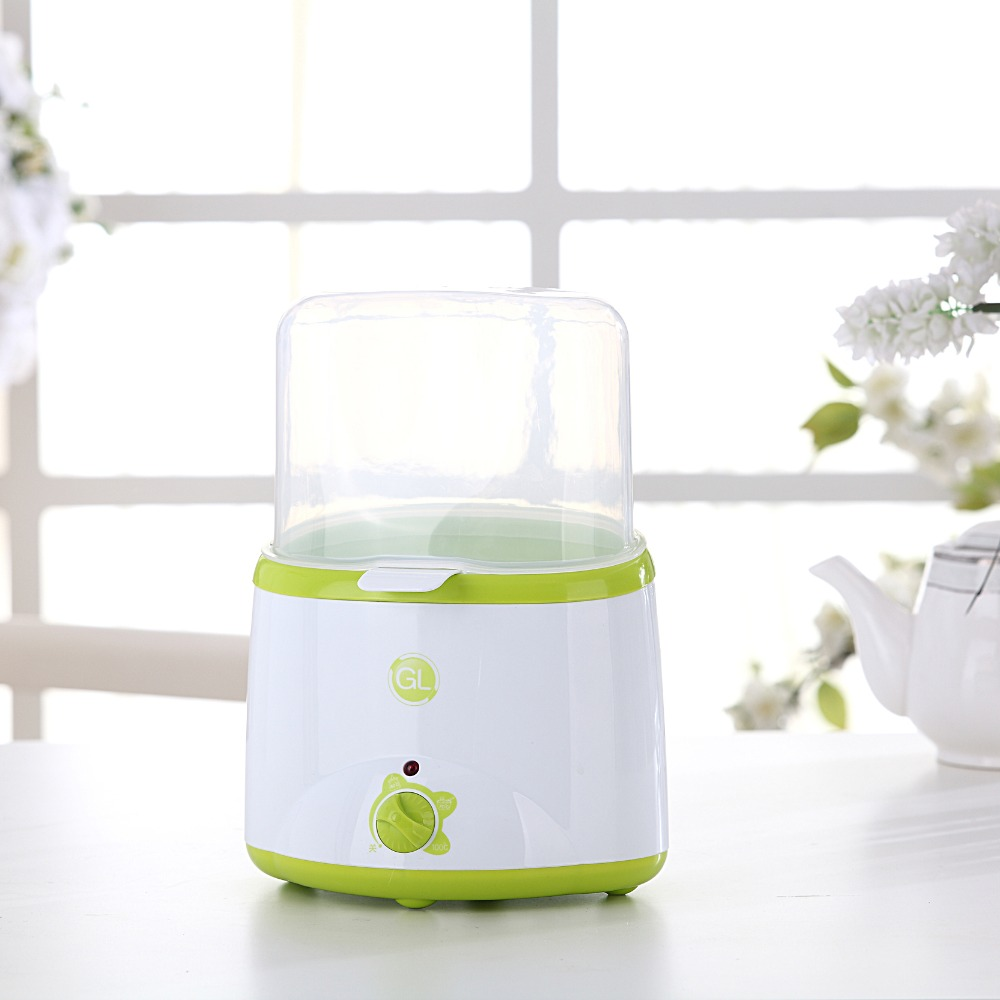 GL Multi-function Bottle Sterilizer Dual Baby Milk Feeding Bottle Warmer Heater Sterilizer Multi-functional Baby Food Heater baby bottle storage box baby feeding bottle cover bag boxes baby feeding bottle holder for travel outdoor