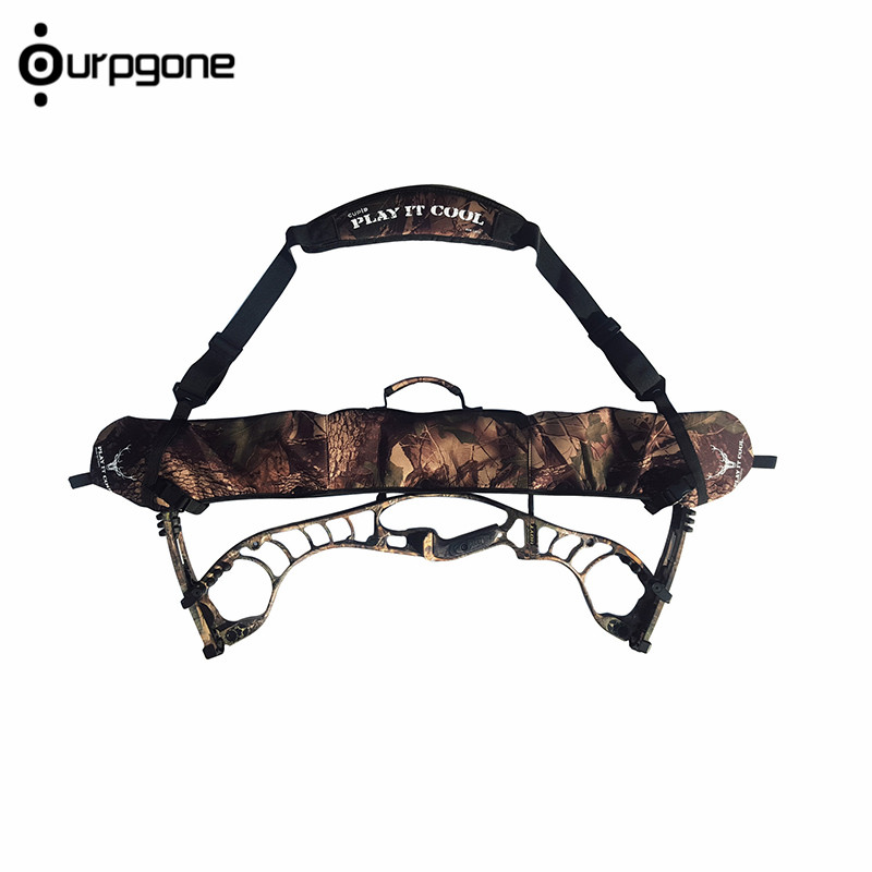 Neoprene Hunting Bow Carrier Sling Compound Bow Holster Archery Belt Hunting Sling Comouflage Color Compound Bow Sling hunting bow