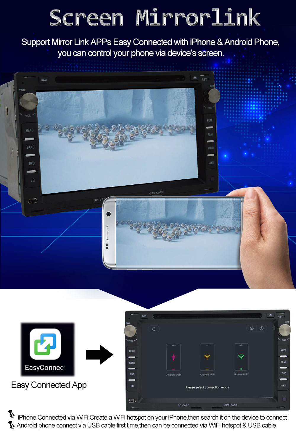 Octa Core Android 8.0 Car DVD Player for VW Passat Golf Polo Jetta ...