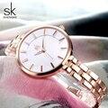 Shengke 2019 новые женские часы модные часы из розового золота Женские часы Женские кварцевые наручные часы Reloj Mujer Relogio Feminino