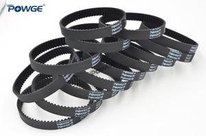 Image 3 - POWGE 10pcs HTD 3M Timing belt 207 3M 9 Perimeter 207mm width 9mm Teeth 69 Rubber HTD3M synchronous belt 207 3M 9 closed loop