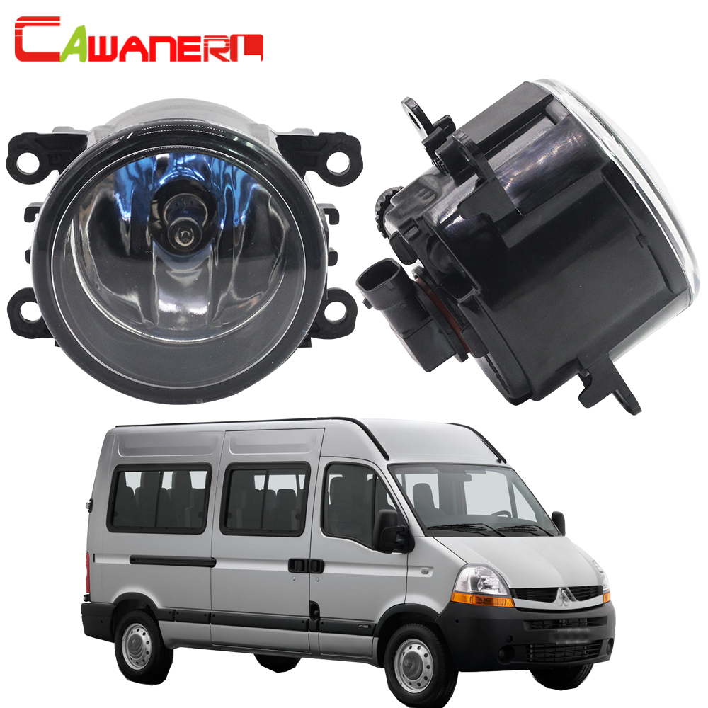 Cawanerl For Renault Master II 1998-2010 100W H11 Car Halogen Bulb Fog Light Daytime Running Lamp DRL High Power 2 Pieces