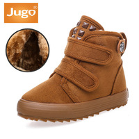 Children Shoes Winter Kids Snow Boots Keep Warm Thicken Plush Boy Winter High Ankle Shoes Brand