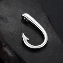 Stainless Steel Hooks Pendant Hole 3mm Bracelet Clasp Fishhook Jewelry Making Findings Charms DIY Supplies Accessories Wholesale