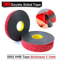 3M VHB 5952 high sticky acrylic adhesive foam tape/it can sticky to Glass Metal and so on size is 25mm*33M/15rolls/lot|adhesive foam|tape tape|vhb tape -