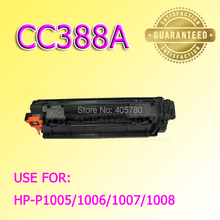 CC388A Toner cartridge compatible for HP P1005/1006/1007/1008/388A freeshipping+