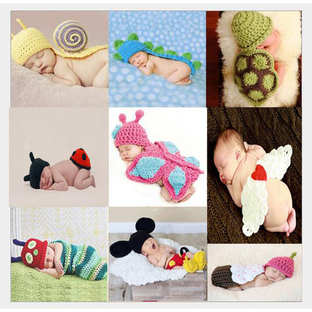 Newborn photography props accessories 100 days baby clothes baby photography props infant costume outfit wholesale