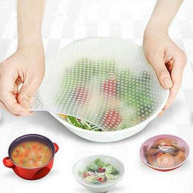 Copertura cibo Tovaglietta Multifunzione Da Cucina Aiutanti Bowl covers Conserva