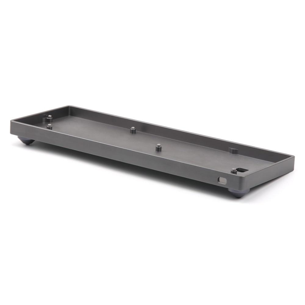 купить Customized GH60 Full Kit Aluminum Case Shell chanical keyboard For 60% Standard Layout Mechanical Keyboard Like Poker dz60 case по цене 3127.89 рублей