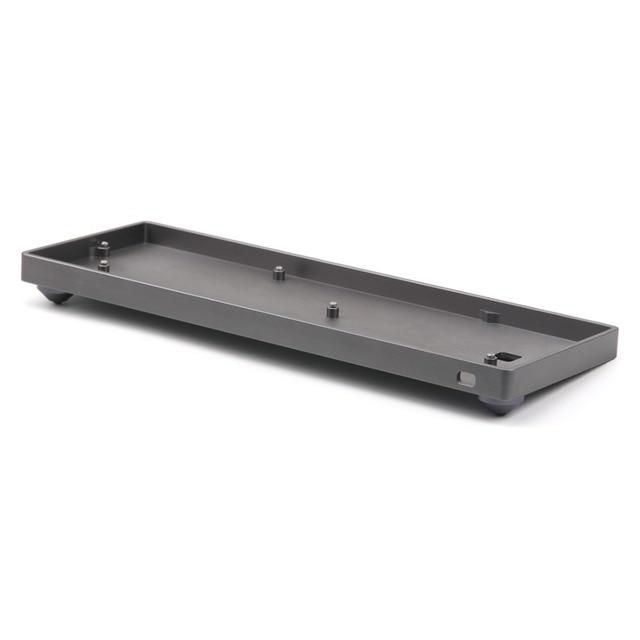 Dostosowane GH60 pełny zestaw aluminiowa obudowa Shell chanical klawiatura dla 60% standardowy układ mechaniczna klawiatura jak Poker dz60 przypadku