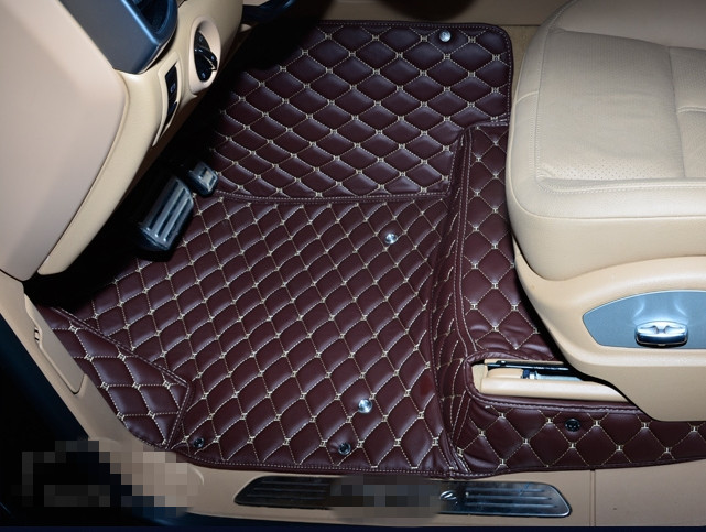 Best quality! Good car floor mats for Porsche Cayenne 958 2017-2010 waterproof durable carpets for Cayenne 2016,Free shipping