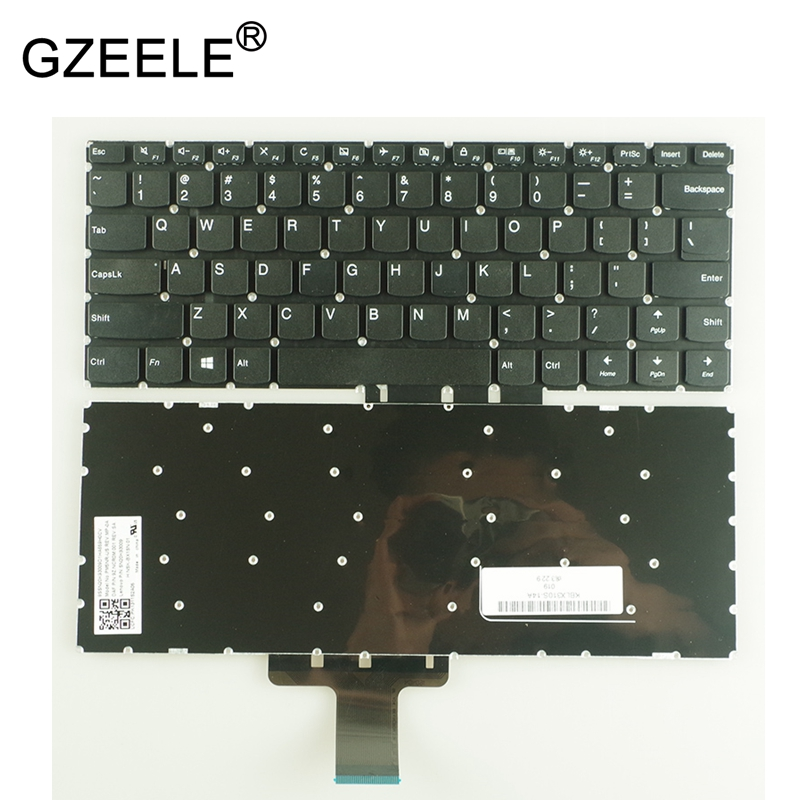 GZEELE New For Lenovo Ideapad 310S-14ISK 510S-14ISK 14IKB 14AST 510s-14isk 510s-14ikb 310S-14 310s-14ast Keyboard US English