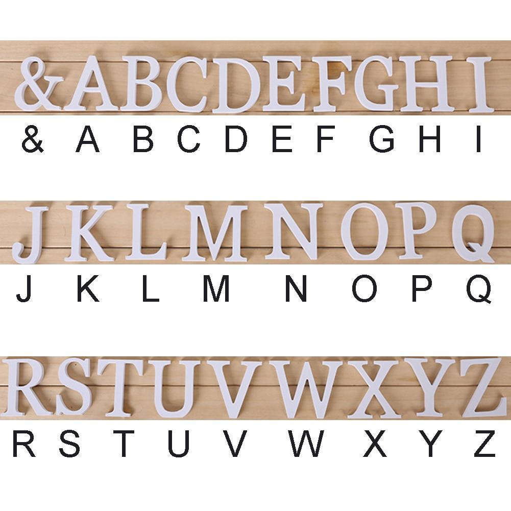 3D деревянные буквы letras decorativas персонализированное Имя Дизайн Искусство ремесло деревянные украшения letras de madera houten буквы