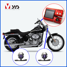 Vsys 2CH IP 57 waterproof lens HD motorcycle camera with 32G TFcard