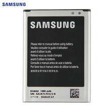 SAMSUNG Original Replacement Battery B500BE For Samsung GALAXY S4 Mini I9190 I9192 I9195 I9198 S4Mini Battery 3 pins 1900mAh cheap 1801mAh-2200mAh B500AE
