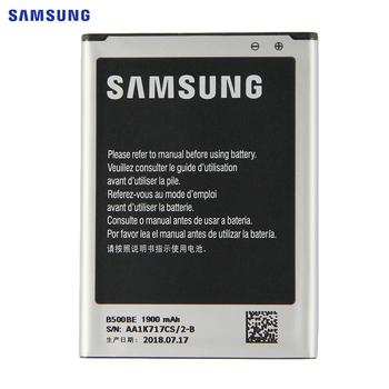 SAMSUNG Oryginalna wymiana baterii B500BE dla Samsung GALAXY S4 mini I9190 I9192 I9195 I9198 S4Mini bateria 3 piny 1900mAh tanie i dobre opinie 1801mAh-2200mAh Oryginał B500AE