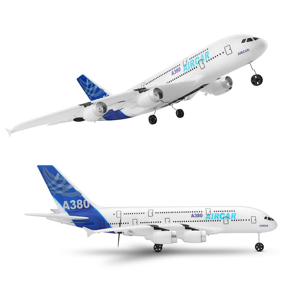 RC Air Passenger Aircraft A380 Airplane 2.4G 3CH Simulation EPP Fixed Wing Remote Control Aircraft Outdoor RC Plane Toys