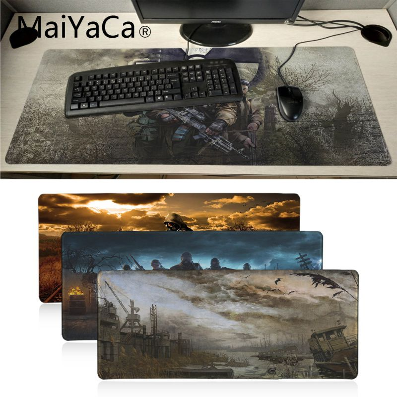 MaiYaCa Boy Gift Stalker High Speed New Mousepad Extended Gaming mouse pad Large Mousepads for Dota2 Game Player