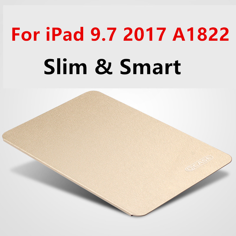 case for ipad 9.7 2017 2018 Magnet Smart Cover For iPad 9.7 2017 2018 A1822 A1823 tablet case Flip Cover Protective shell bag