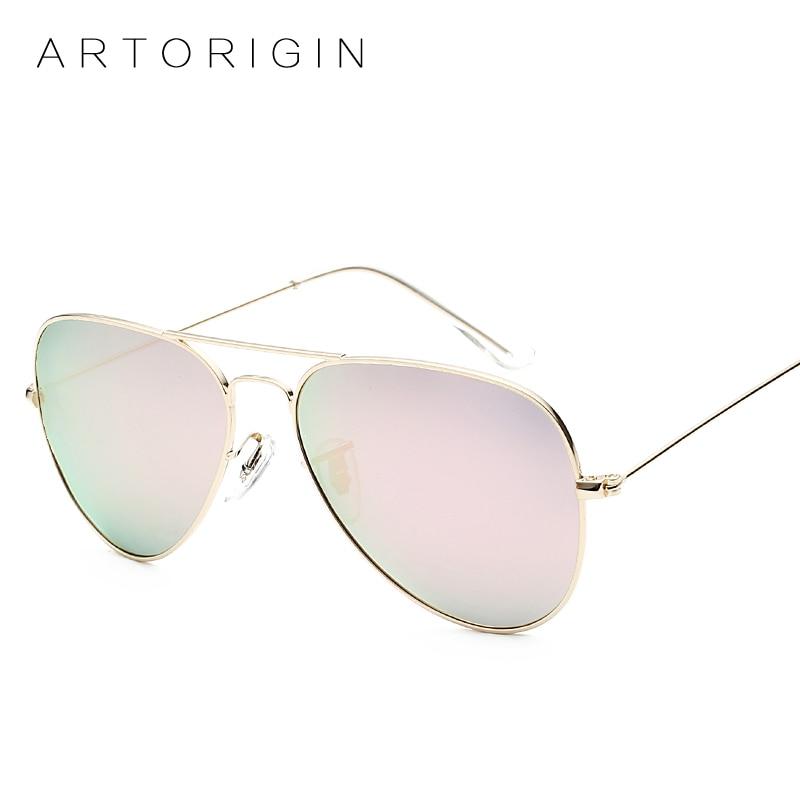 ARTORIGIN Pilot Polarized Sunglasses Women Men Aviation Mirror Glasses Women Stainless Steel Glasses Aviador Masculino Oculos