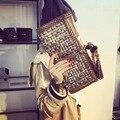 Новое Прибытие Вечерние Сумки Моды Сцепления женский День Сцепления Сумка Заклепки Старинные Кисточка Сумки высокого качества бренда