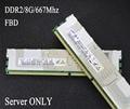 Original Samsung 8G 667 8GB 4G 4GB 16GB DDR2 667MHz PC2-5300 radiator FBD ECC Server memory FB-DIMM RAM ddr 2 pc2-5300f