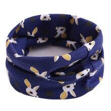 Коллекция года, осенне-зимний хлопковый шарф для малышей, 40*20 см, весенние детские шарфы, воротники для малышей, шарф с круглым вырезом для мальчиков и девочек, детский шейный платок