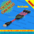 3 in 1 RJ45 Cable for LG Flashing &unlocking &Repairing Free shipping