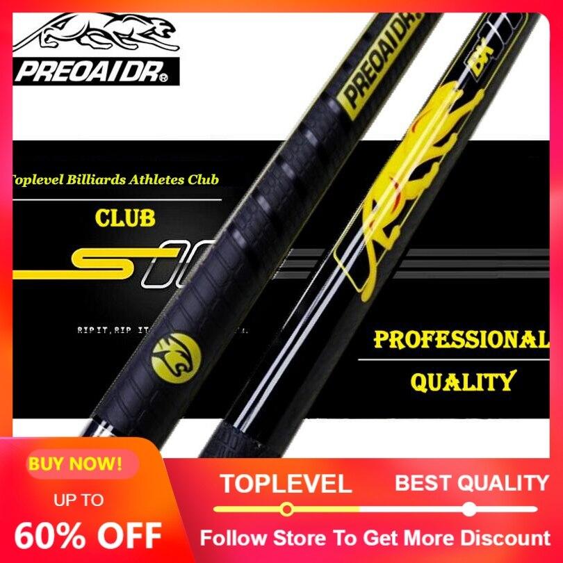 New Handmade PREOAIDR Punch Jump Cue Punch Jump Stick 13mm Tip Ergonomic Design Hardwood North American