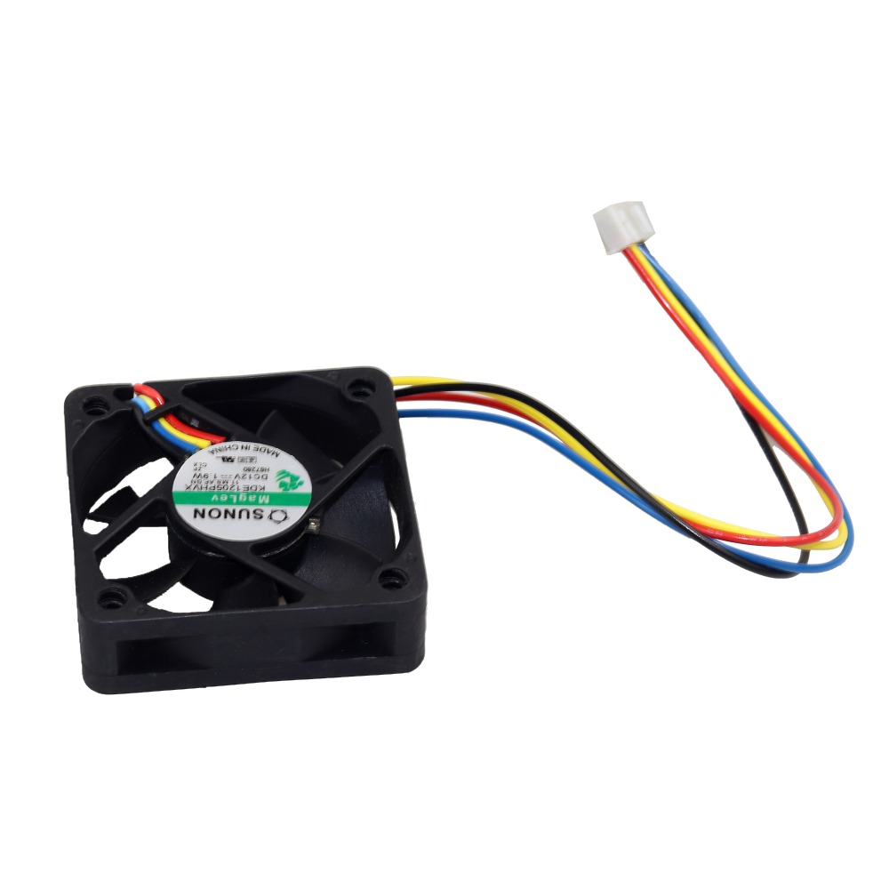 50mm pc cooler 4pin Connettore scheda madre PC desktop Computer CUP raffreddamento 2500rpm