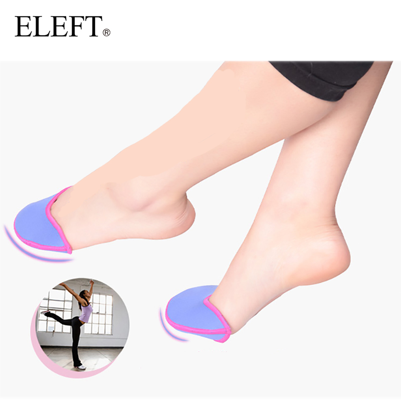 ELEFT foot care toe dance protector insoles half pad pads sponge silicone gel support ballet shoes covers high heel shoe women sorbern high heel gel ballet toe pad bunion protector eases callus foot care tool soft pointe pad for ballet shoes insole