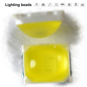 310pcs /lot SMD LED 2835 lamp beads highlight 1W 350ma 3V-3.4V5000K 5700K 6000K CRI80 light-emitting diode
