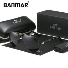BANMAR Polarized Mens Sunglasses Pilot Sun glasses For Men Accessories Driving Fishing Hiking Eyewear Oculos Gafas De Sol Goggle стоимость