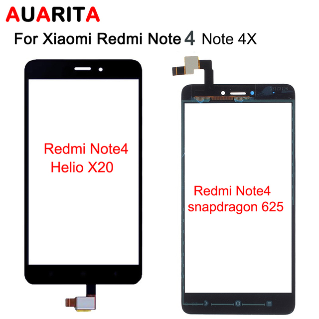 1pcs touch panel Digitizer Touch Screen Glass for xiaomi redmi note4 note4x note 4 redmi note 4x Digitizer Sensor Front Glass