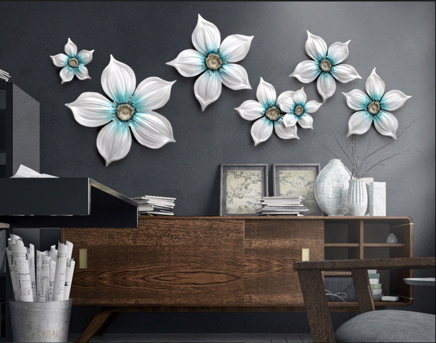 diy woondecoratie 6 stks driedimensionale muonen tv sofa