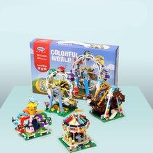 Xingbao сказочные блоки колесо обозрения кирпичи веселого го