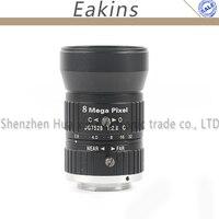 75mm Focal Length F2.8 1 C mount Lens Manual Iris/Focus Industrial Lens Optical Lens For CCTV Camera Security System