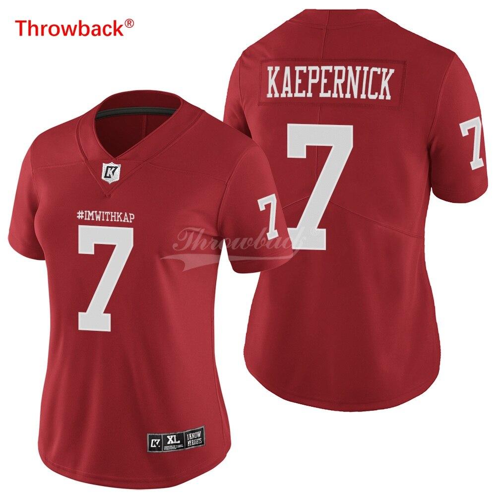 reputable site 48d5a 6d0d3 Throwback Jersey Women's IMWITHKAP American Football Jerseys ...