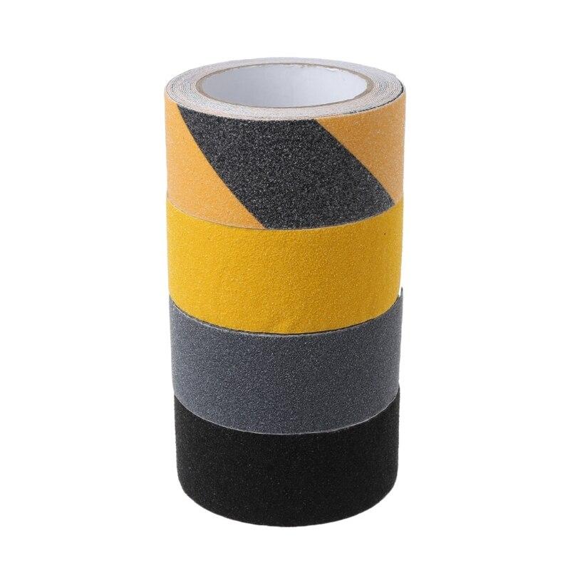 5CM x 5M Floor Safety Non Skid Tape Roll Anti Slip Adhesive Stickers High Grip bike bicycle anti skid non slip handlebar tape belt wrap w bar plug camouflage black white