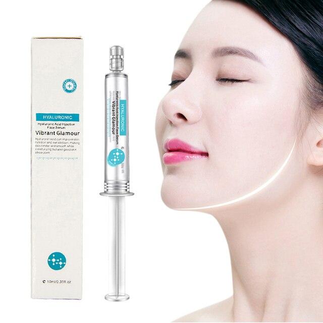 Suero de cara de ácido hialurónico de alta calidad hidratante esencia facial blanqueamiento Esencia de acné antiarrugas para reducir la piel seca TSLM1