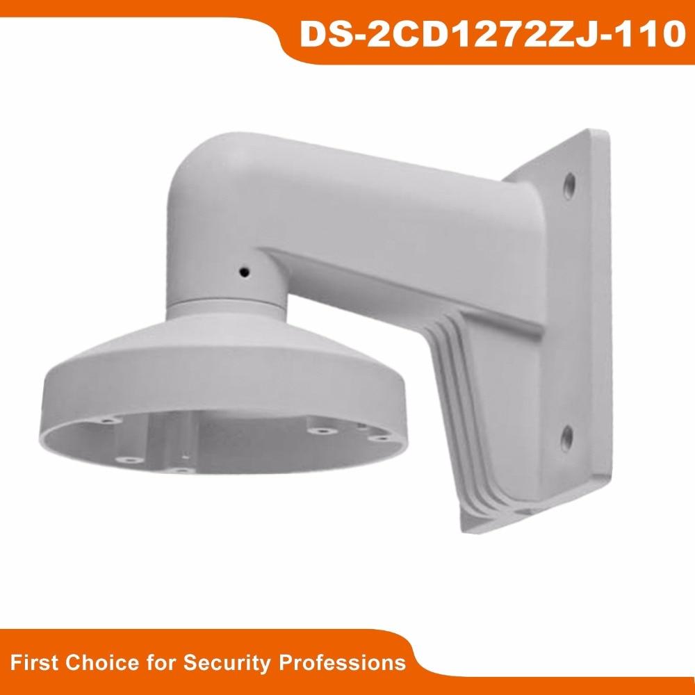 In Stock Original HIKVISION High Quality CCTV Bracket DS-1272ZJ-110 for DS-2CD2142 and DS-2CD31xx Wall Mount Bracket аксессуары для акустики sonance lcr1 sur1 in wall flex bracket