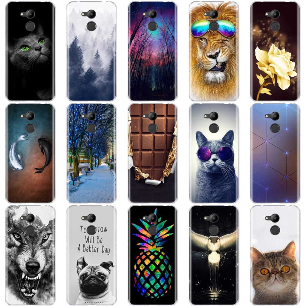 For Huawei Honor 6C Pro Case For Huawei Honor 6C Pro Case 5.2'' 3D Cat Cute Soft Silicone Cover For Honor 6C Pro Honor6C Cases